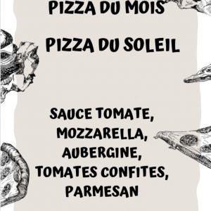 Pizza du mois Juillet 2020