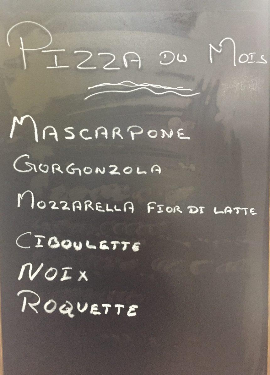 Pizza du mois Janvier 2021